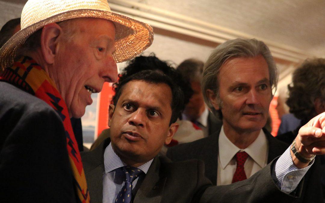 De ambassadeur van Sri Lanka