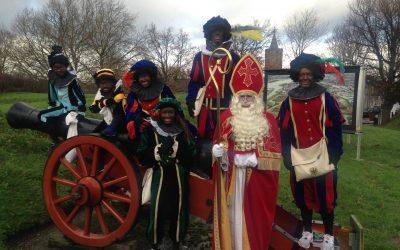 Sinterklaas bij Het Nederlands Vestingmuseum