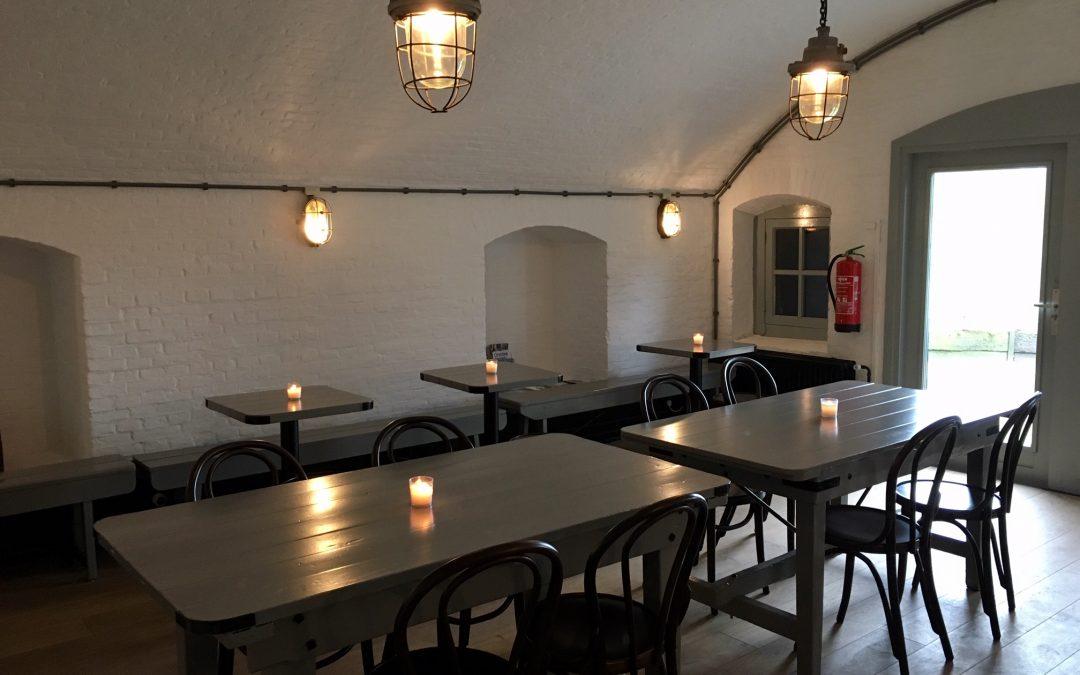 Museumcafé in gebruik