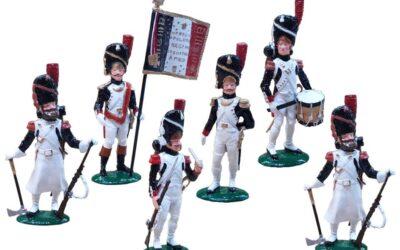 Tinnen figuren Tradition of London