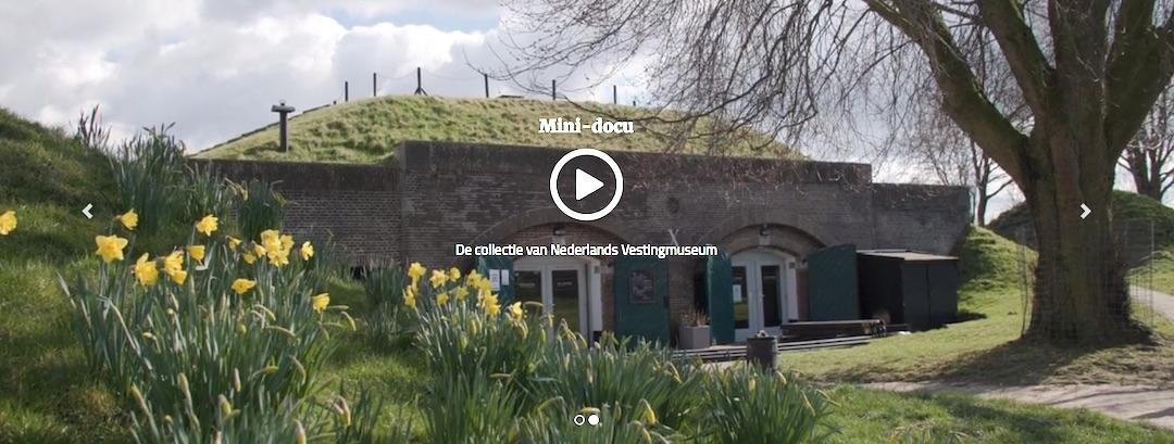 Minidocumentaire over Vestingmuseum op Museum TV